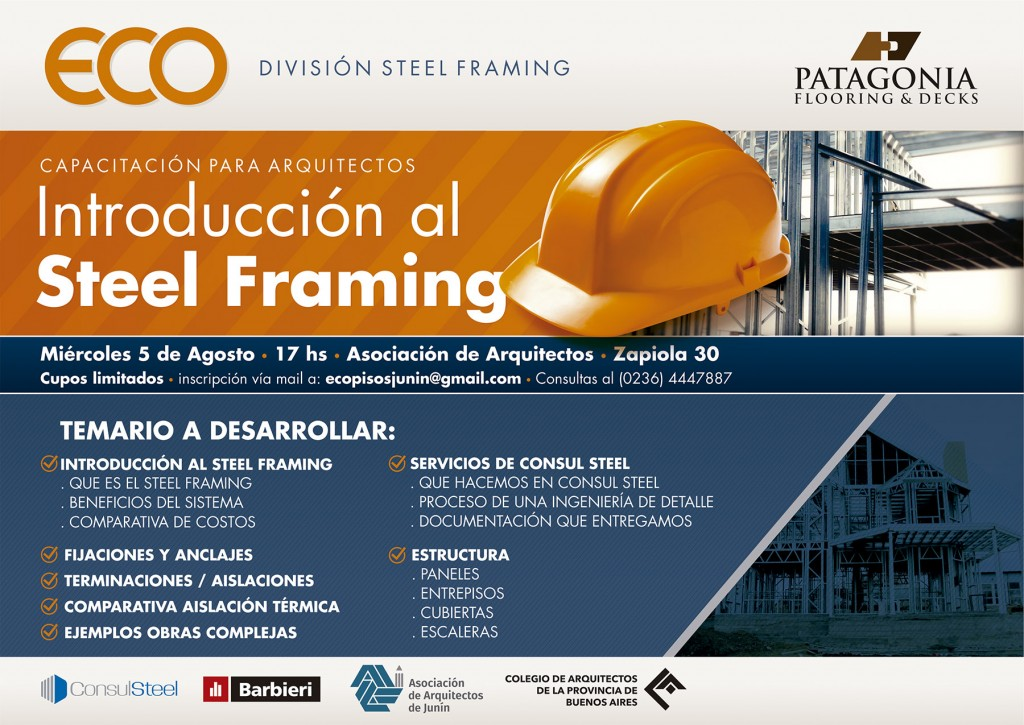 Eco - Capacitacion Steel Framing - internet